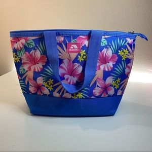 Igloo lunch Bag Tropical Floral insulate Tote NWOT